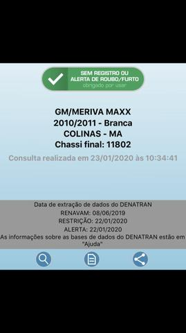 Meriva Maxx 2010/2011 - Foto 8