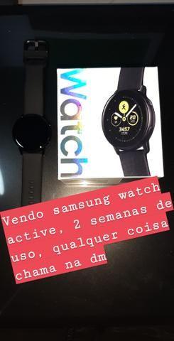 Vendo samsung watch, 1 mês de uso