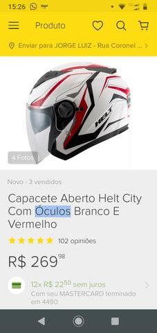 Capacete Helt New City 60 - Foto 5