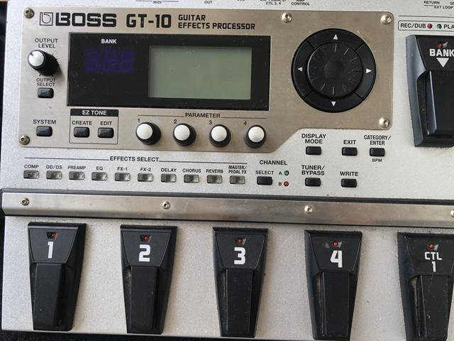 Pedaleira GT10 com case - Foto 5