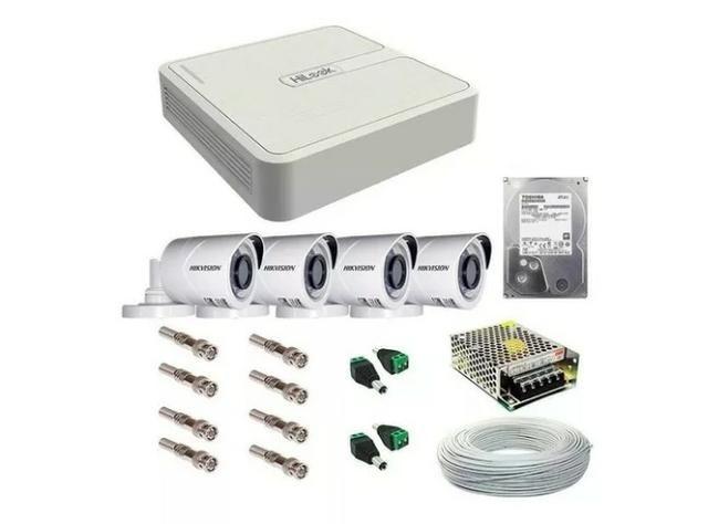 Câmeras de Segurança em promoção   Kit completo e instalado   Acesso Celular
