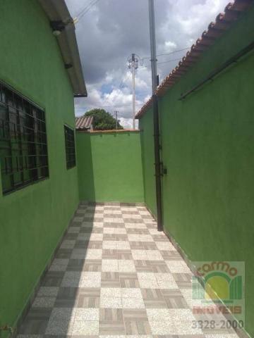 Casa com 3 dormitórios para alugar, 150 m² por R$ 950/mês - Jardim dos Ipês - Anápolis/GO - Foto 3