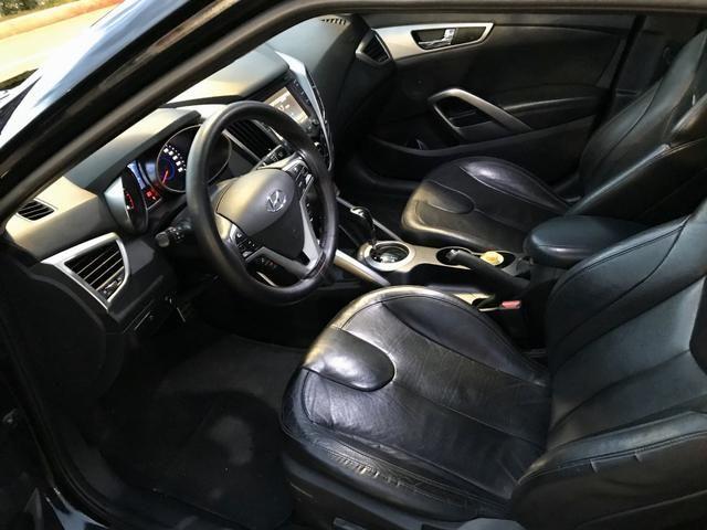 Hyundai Veloster o mais top aceito trocas menor valor - Foto 8