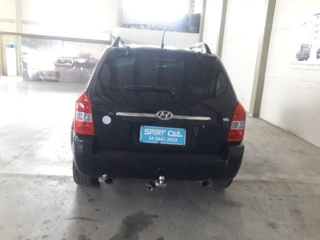 Hyundai tucson gls 2.7 v6 4x4 ano 2007 -automatica - valor: 29.999,99 - Foto 10