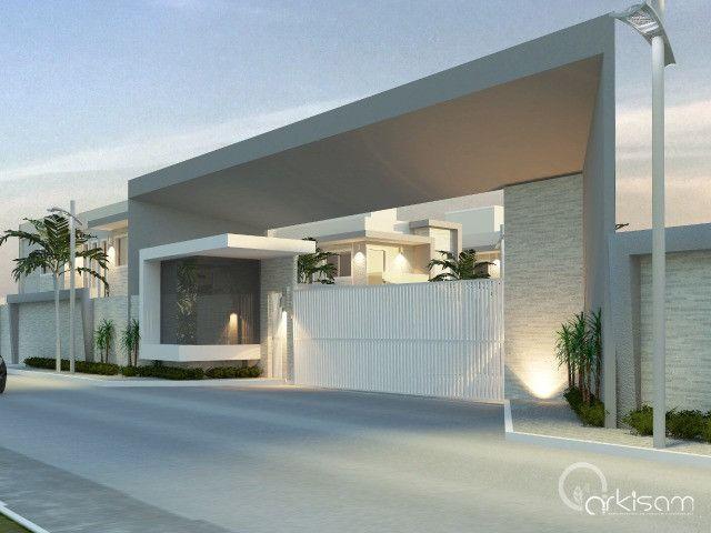 Vendo casa alto padrão em rua privativa no Eusébio. 180 m² com 4 suítes - Foto 6
