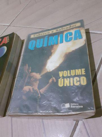 Livros de Química e Física