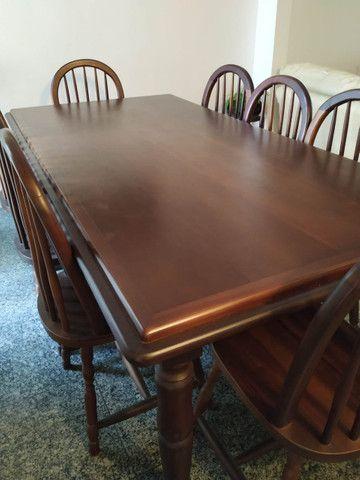 Conjunto Mesa de jantar com 8 cadeiras - Foto 4