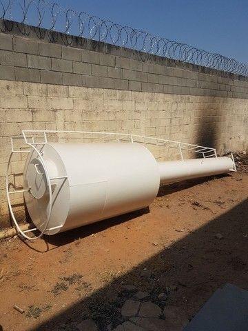 Caixa d'água modelo Taça Torre seca de 3 mil litros  - Foto 5