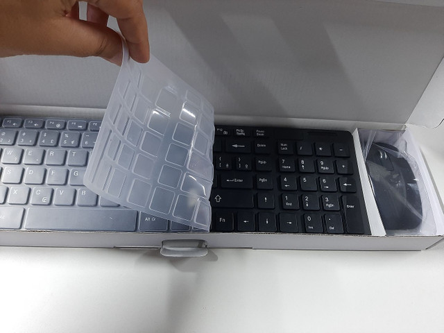 Teclado + Mouse Wireless  - Foto 2