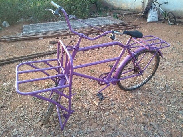 Bicicleta de garga bem conservada  - Foto 2