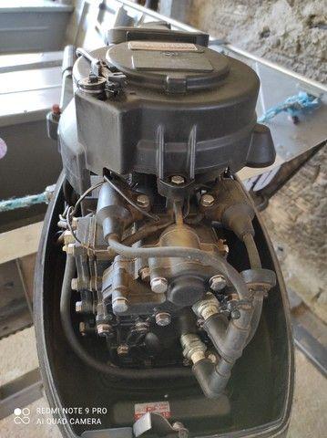 Motor de popa 15 HP - Foto 6