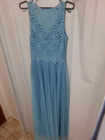 Vestido Madrinha Azul Serenity  - Foto 4