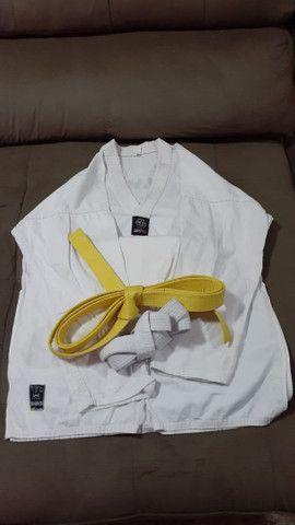 Kimono shiroi taekwondo  - Foto 2
