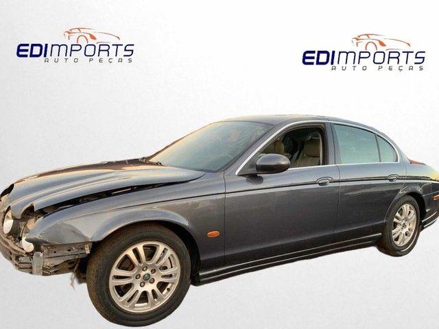 Sucata Para Peças Jaguar S-type V8 2002