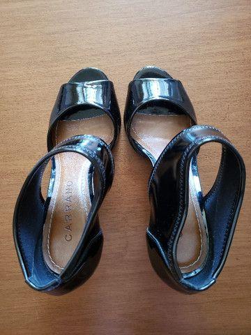 Sapato Preto Verniz Carrano 36 - Foto 6