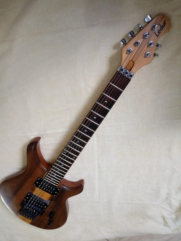Guitarra Ledur Ponte Gotoh captção Sergio Rosar parcelo ML/avalio trocas