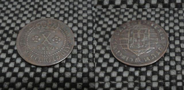 Conjunto de moedas de Réis - Foto 2