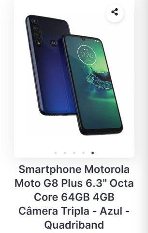 Motog8 plus com nota fiscal. - Foto 6