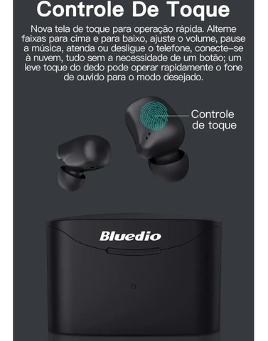 Fone De Ouvido Bluedio T-elf 2 Bluetooth Sem Fio Wireless - Foto 4