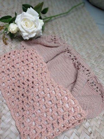 Croped crochê - Foto 4