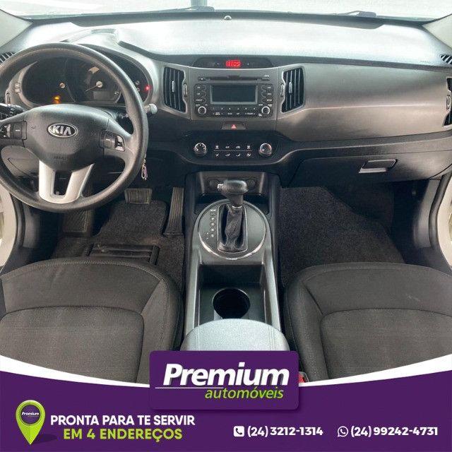 Kia Sportage Lx2 Automatica 2014 Gnv Injetado Branca Premium Automóveis - Foto 7