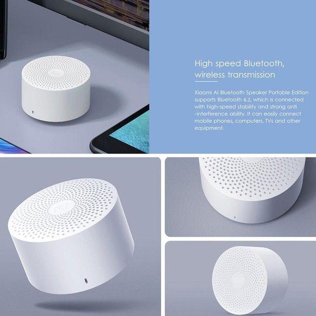 Caixa de som Bluetooth XIAOMI Mini (Qualidade excepcional) - Foto 5