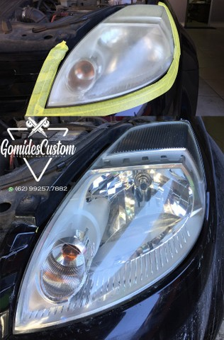 Restauração de faróis e lanternas automotivos com garantia de 1 ano. - Foto 4