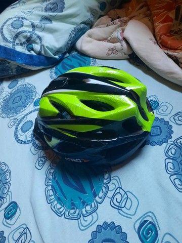 Capacete de ciclismo usado poucas vezes  - Foto 2