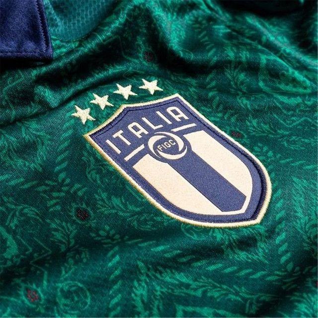 Camisa da seleção italiana terceiro uniforme - Foto 3