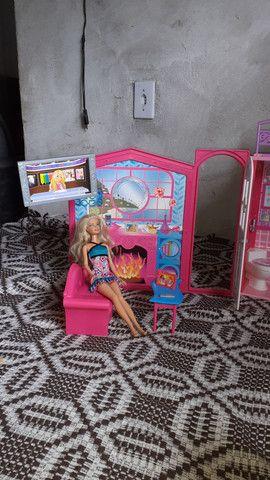 Casa da barbie (grande e pode levar para qualquer lugar!) - Foto 3