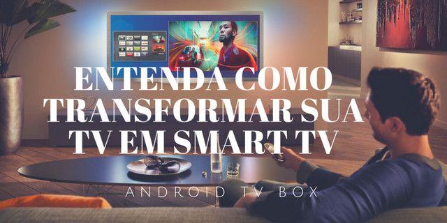 Smart Tv Box 4k Ultra Hd Wi-fi Android Hdmi - Foto 2