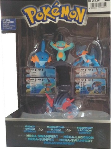 Kit Pokémon Evolução - Mudkip - Tomy - Foto 3