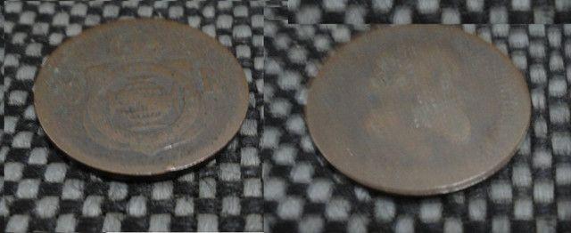 Conjunto de moedas de Réis - Foto 3