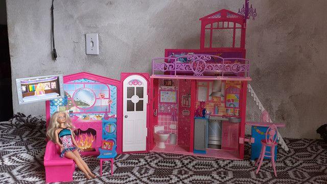 Casa da barbie (grande e pode levar para qualquer lugar!) - Foto 2