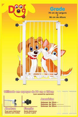 Grade de proteção com portão - Foto 2