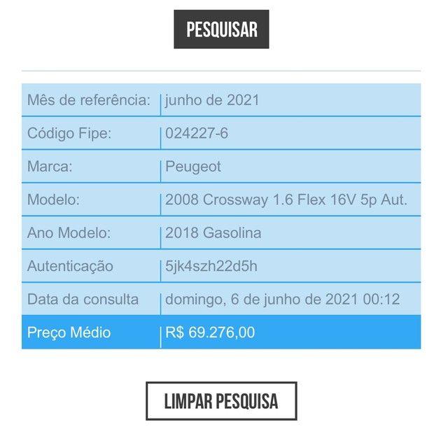 Peugeot 2008 Crossway - Ano 2018/2018 - Foto 20
