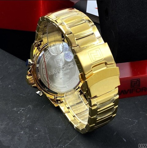 Relógio másculo casual Naviforce - NOVO (100% Funcional) - Foto 2