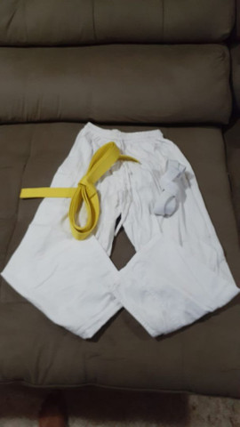 Kimono shiroi taekwondo