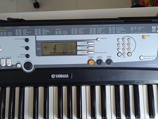 Teclado Yamaha PSR E213 - Foto 4