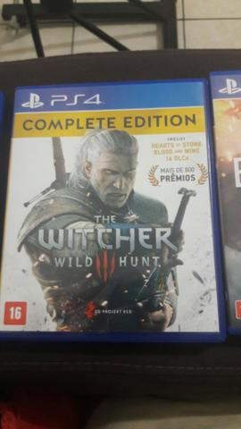 The Witcher - Complete edition ps4