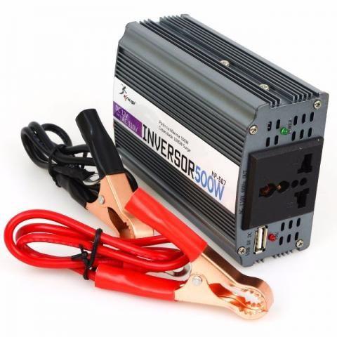 Inversor Conversor De Tensão 12v 110v 500w Transformador (NOVO)