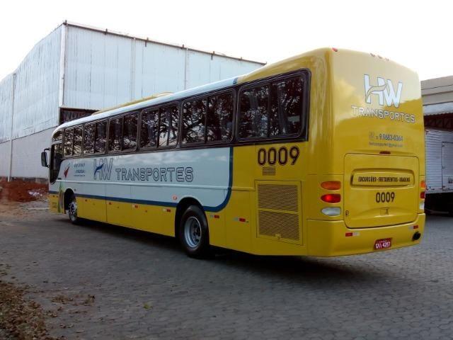 Ônibus rodoviário Comil 3.45 motor Mercedes O400 eletrônico ano 2000 46 lugares soft - Foto 4