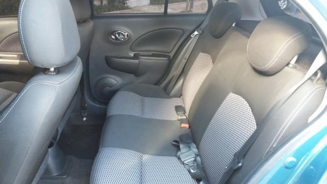 Nissan March 2015 1.6 SV 16V Completo! Excelente Estado!! Novo!! - Foto 10