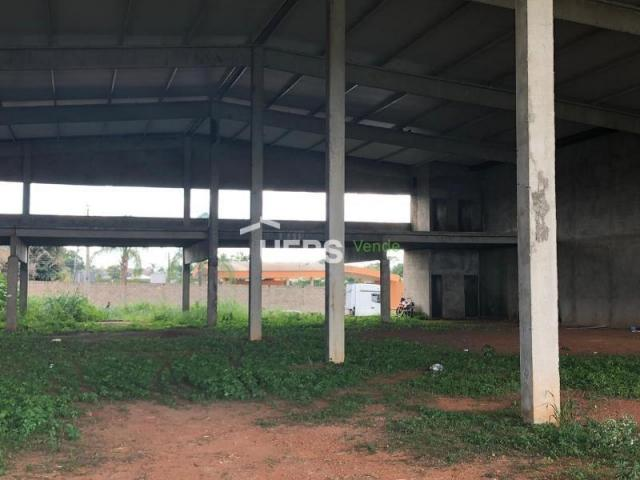 Galpão à venda, 240 m² por r$ 4.000.000 - jardins madri - goiânia/go