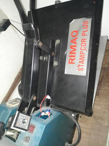 Prensa Rimaq Stampcor Plus para sublimação e filme de recorte