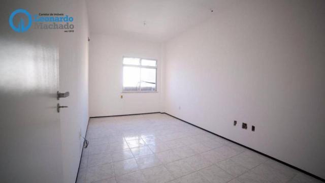 Apartamento com 3 dormitórios à venda, 99 m² por R$ 350.000 - Cocó - Fortaleza/CE - Foto 14