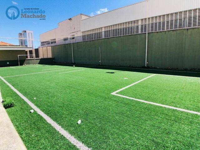 Apartamento com 3 dormitórios à venda, 115 m² por R$ 585.000 - Cocó - Fortaleza/CE - Foto 4