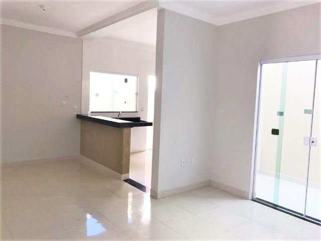 VN215 - Casa Nova com Fino acabamento no Bairro Novo Mundo - Vida Nova