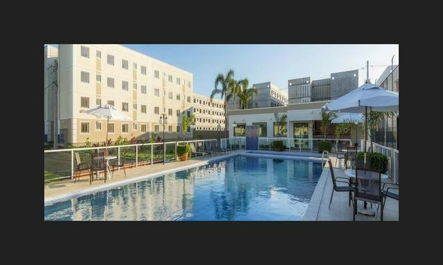 Apartamento no sim - parque flora - térreo c/ área excedente - R$: 750,00 - Foto 2