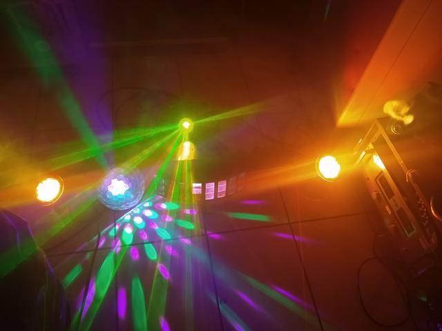 Kit de luz e fumaça para DJ - Foto 3